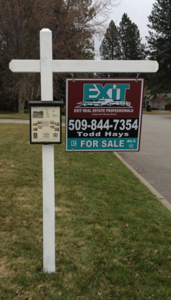 Todd Hays Exit Real Estate sign